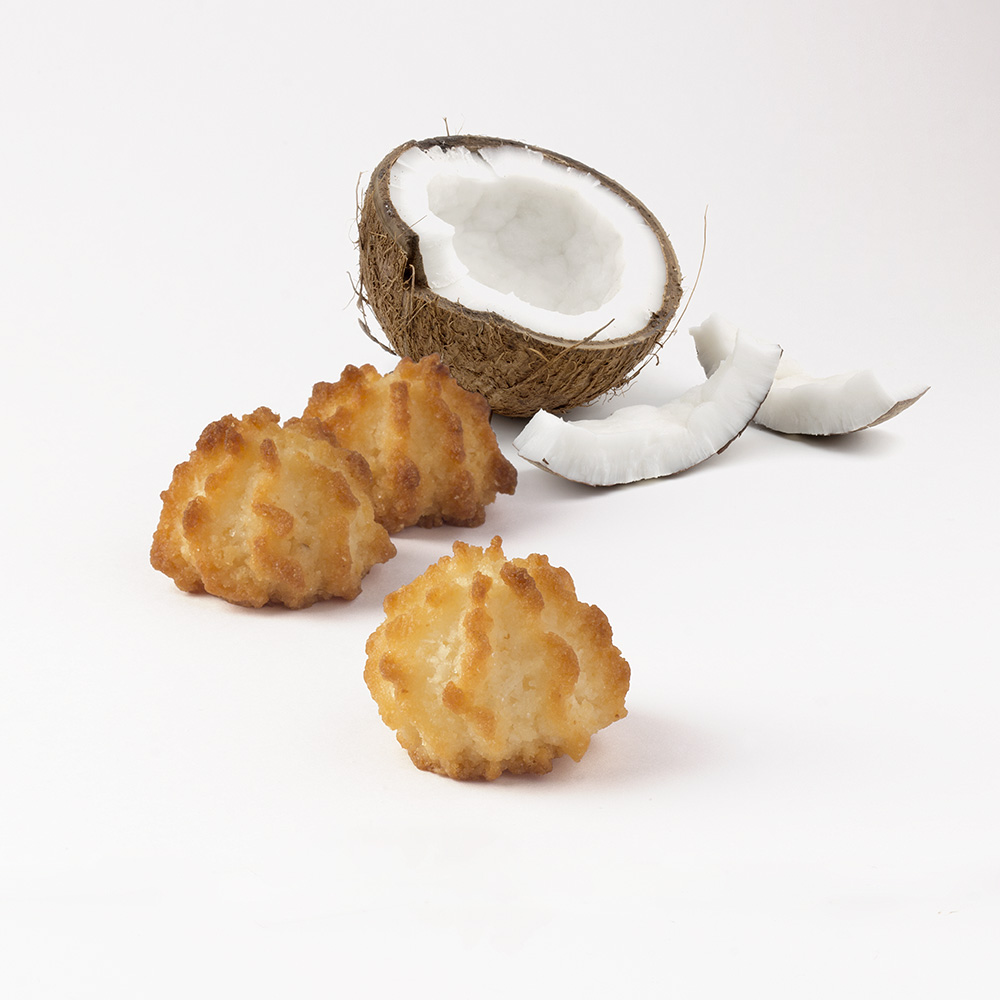 Nibbles of coconut