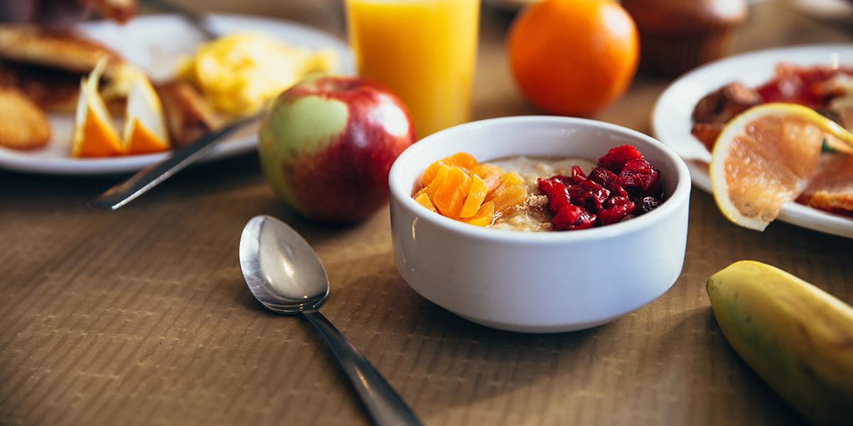 La colazione ci da lo sprint giusto