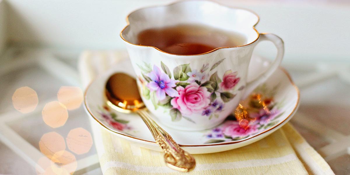 Il piacere di una tazza di tè